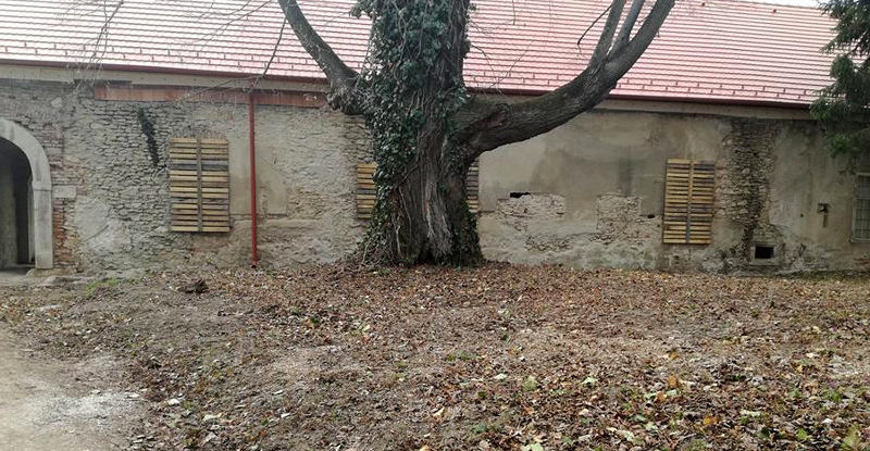 400 ročnú kúriu v Čachticiach zachránia občania