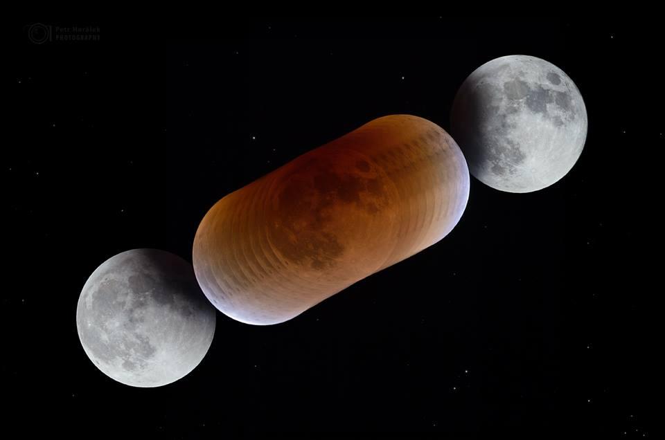 """Čachtický hrad má za sebou úspešnú akciu """"Pozorovanie zatmenie Mesiaca"""""""