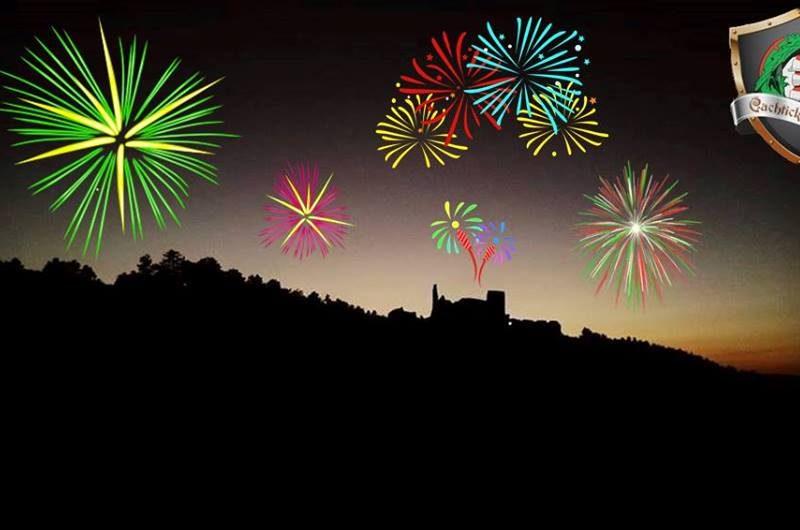 Na hrade sa budeme lúčiť so starým rokom a budeme vítať Nový rok